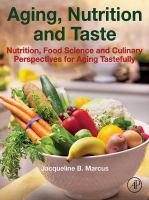 Library book cover Aging Nutrition and Taste Nutrition Food Science and Culinary Perspectives for Aging Tastefully