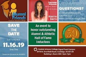 Alumni Friends Save the Date for Vaquero Awards