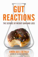 library book cover Gut Reactions the Science of Weight Gain and Loss