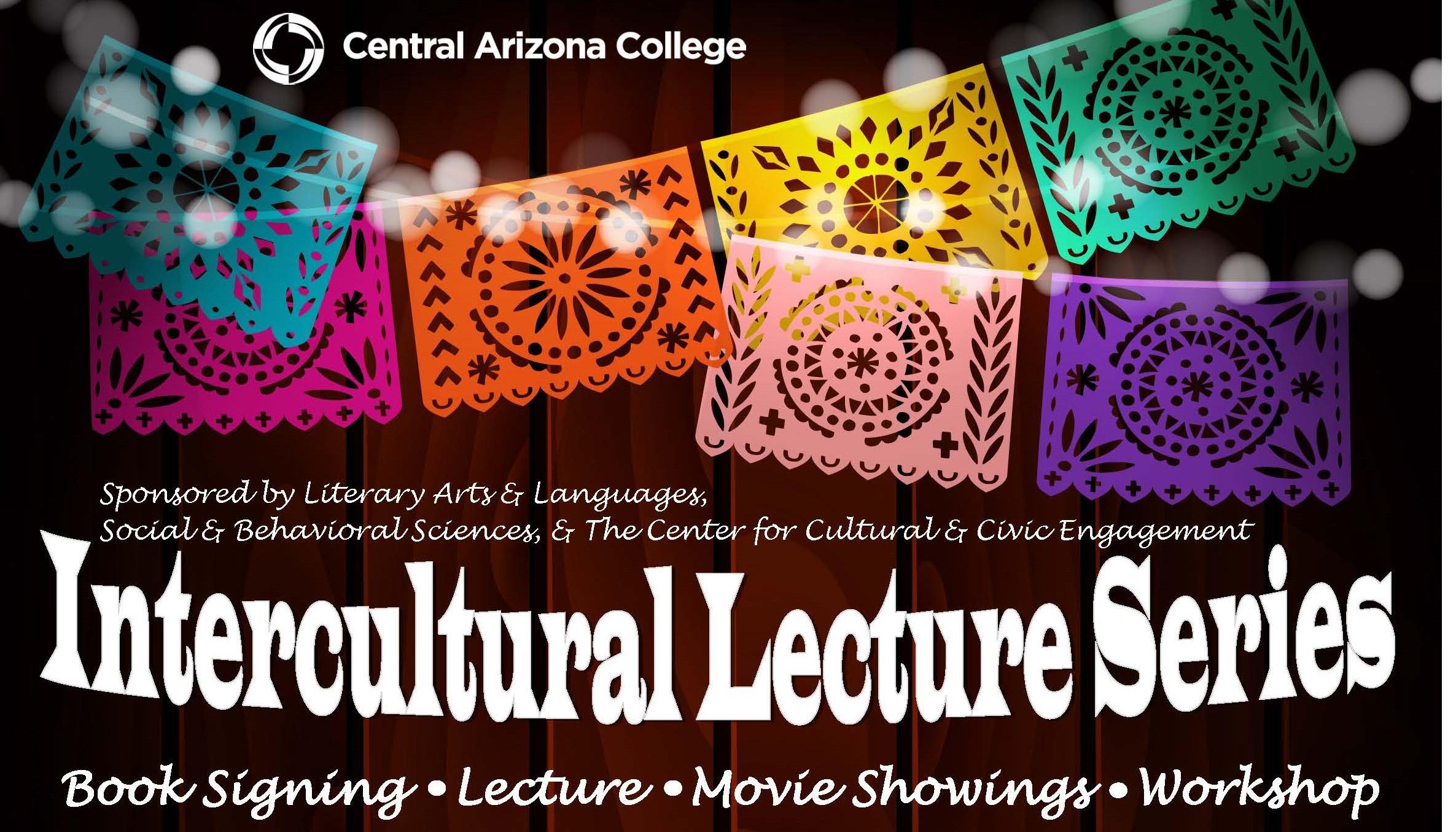 Intercultural Lecture Series Header Design