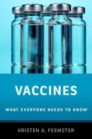 library book cover of Vaccines What Everyone Needs to Know