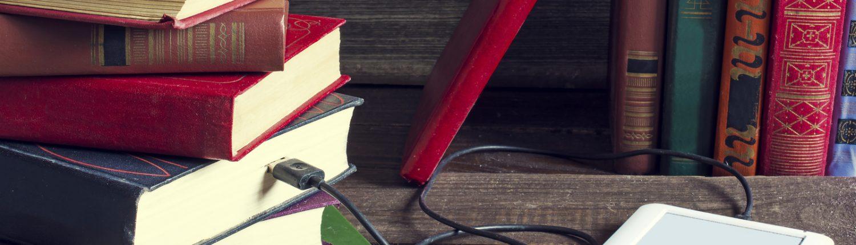 ebooks plugged into books