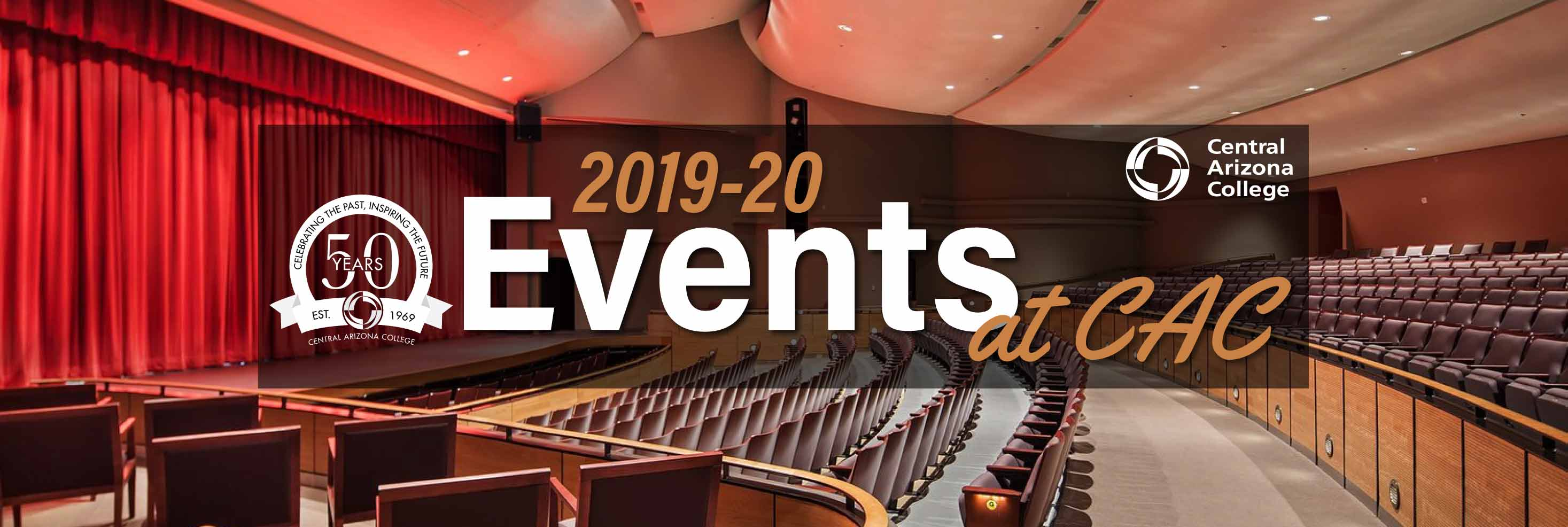 2019-20 Events at CAC - Pence