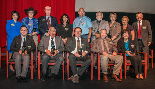 Photo of Wall of success inductees 2012