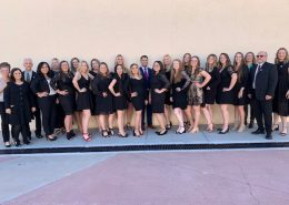 radiologic technology graduates in a group