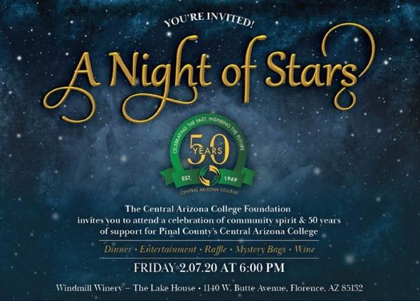 Night of Stars invite