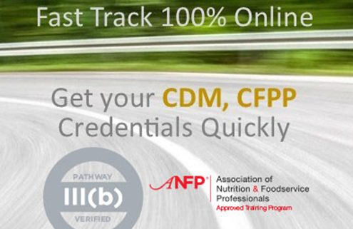 Fast Track-CDM, CFPP Credential (Certificate)