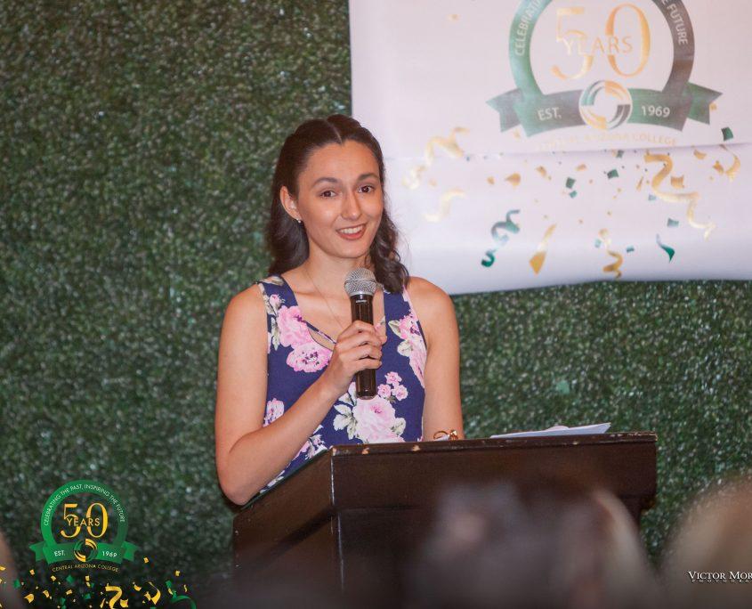 Liliana Matthews Student speaker