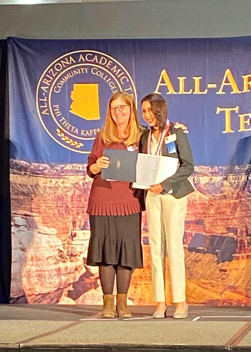 Julianna Juarez-All AZ Recipient