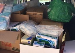 CAC donation of PPE supplies