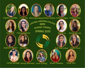 nursing pinning graduates collage