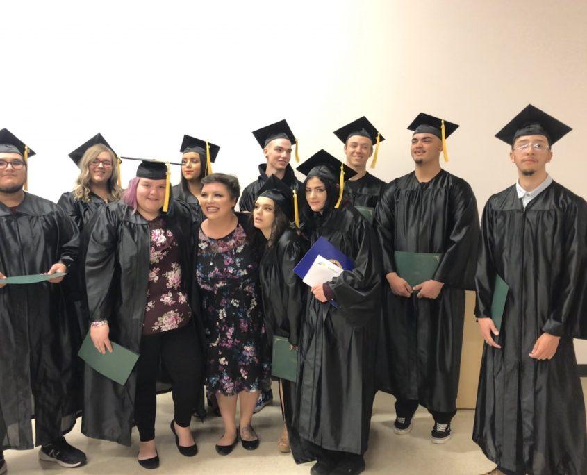WIOA GED graduates