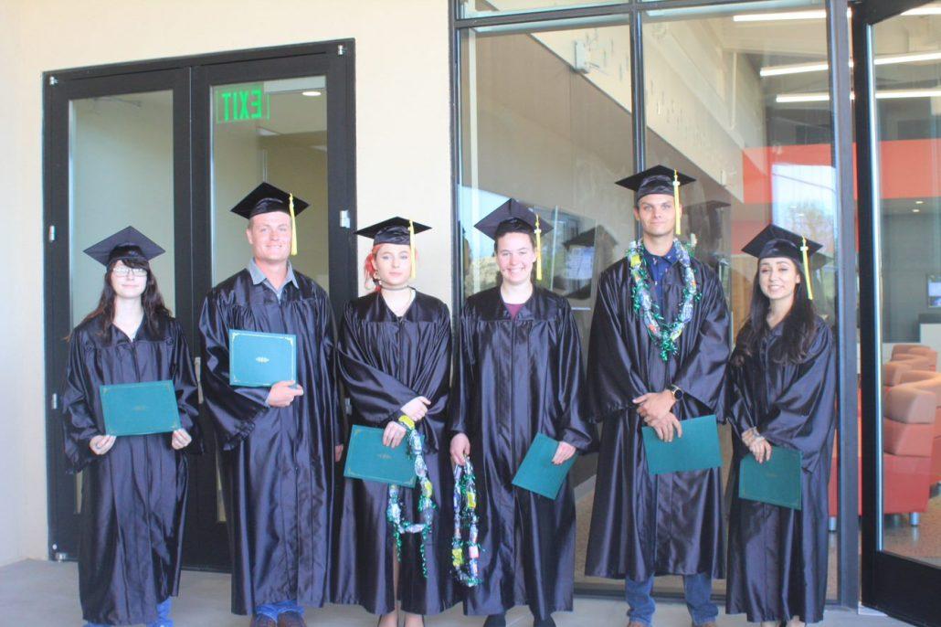 photo of GED graduates