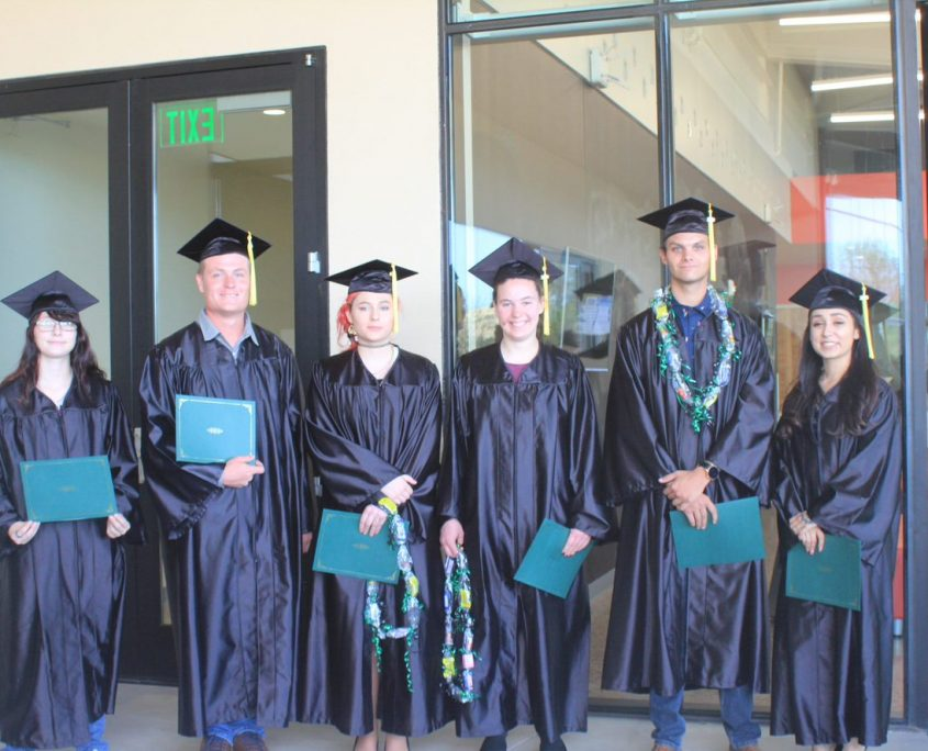 photo of GED graduates
