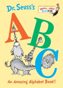 ABC book by Dr Seuss
