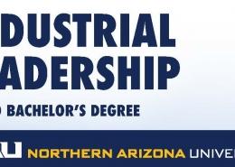 NAU industrial leadership 90-30 program logo