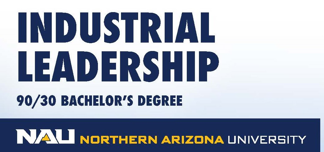 NAU industrial leadership 90-30 program logo