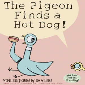 the pigeon finds a hot dog by Mo Willems