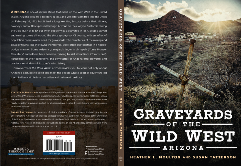 Graveyards of Wild West Bookcover