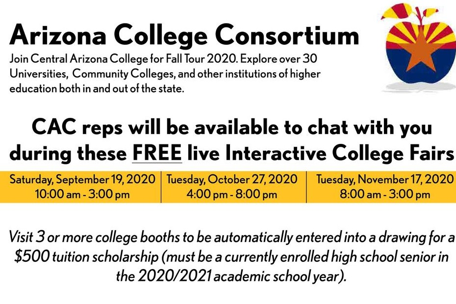 AZ College Consortium Virtual Fair Image