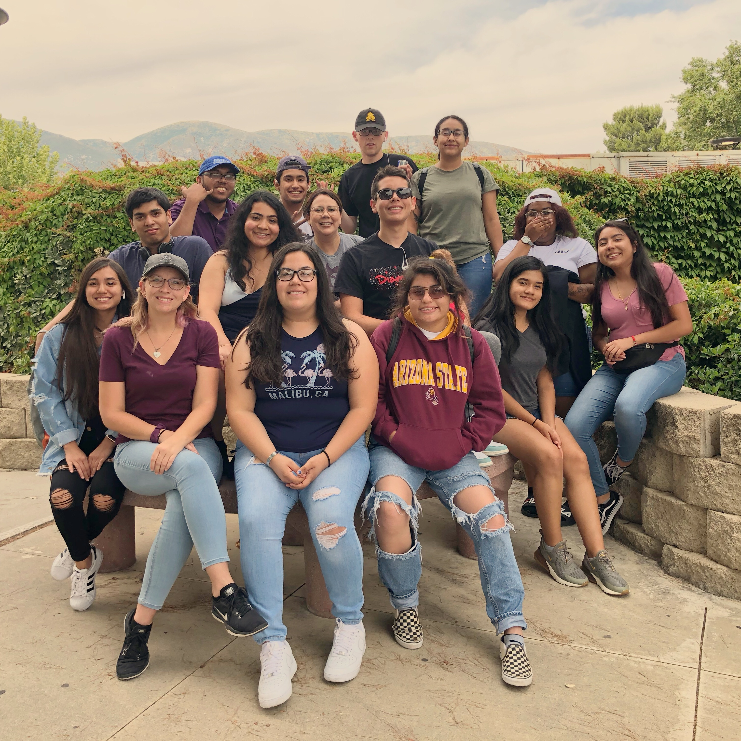 Upward Bound Students on 2019 College Tour