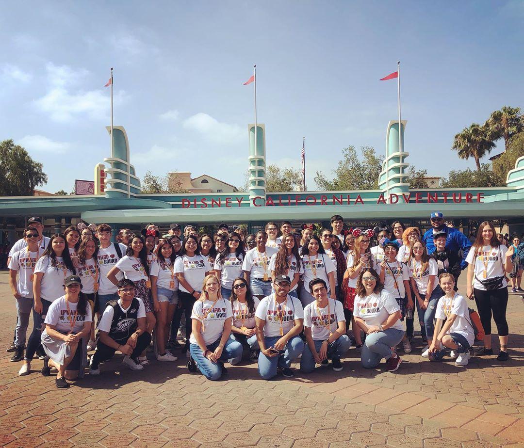 Upward Bound Students on 2019 Disney STEM Trip