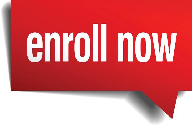 enroll now image