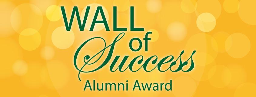 Wall of Success Alumni Award