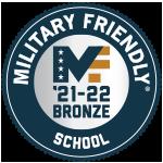 2021-22 Military Friendly School Logo