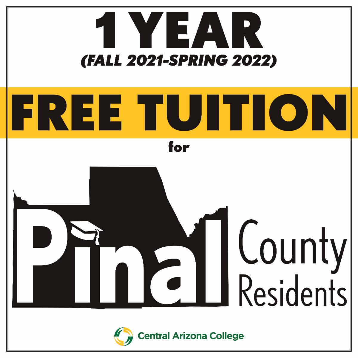 one year free tuition